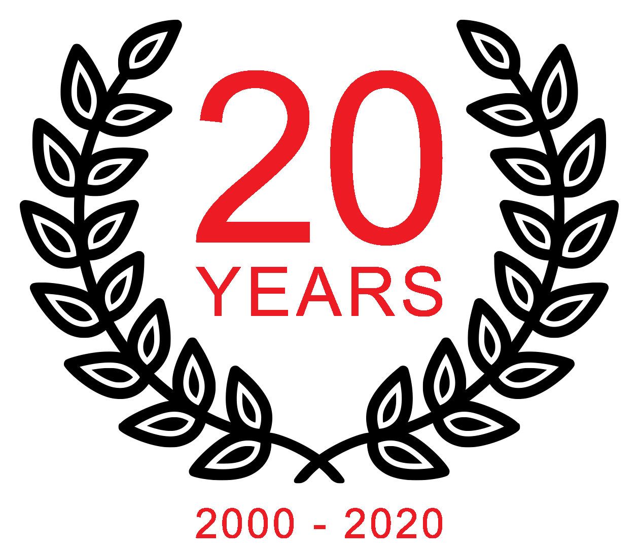 Circuit 2 Circuit 20 Years Logo