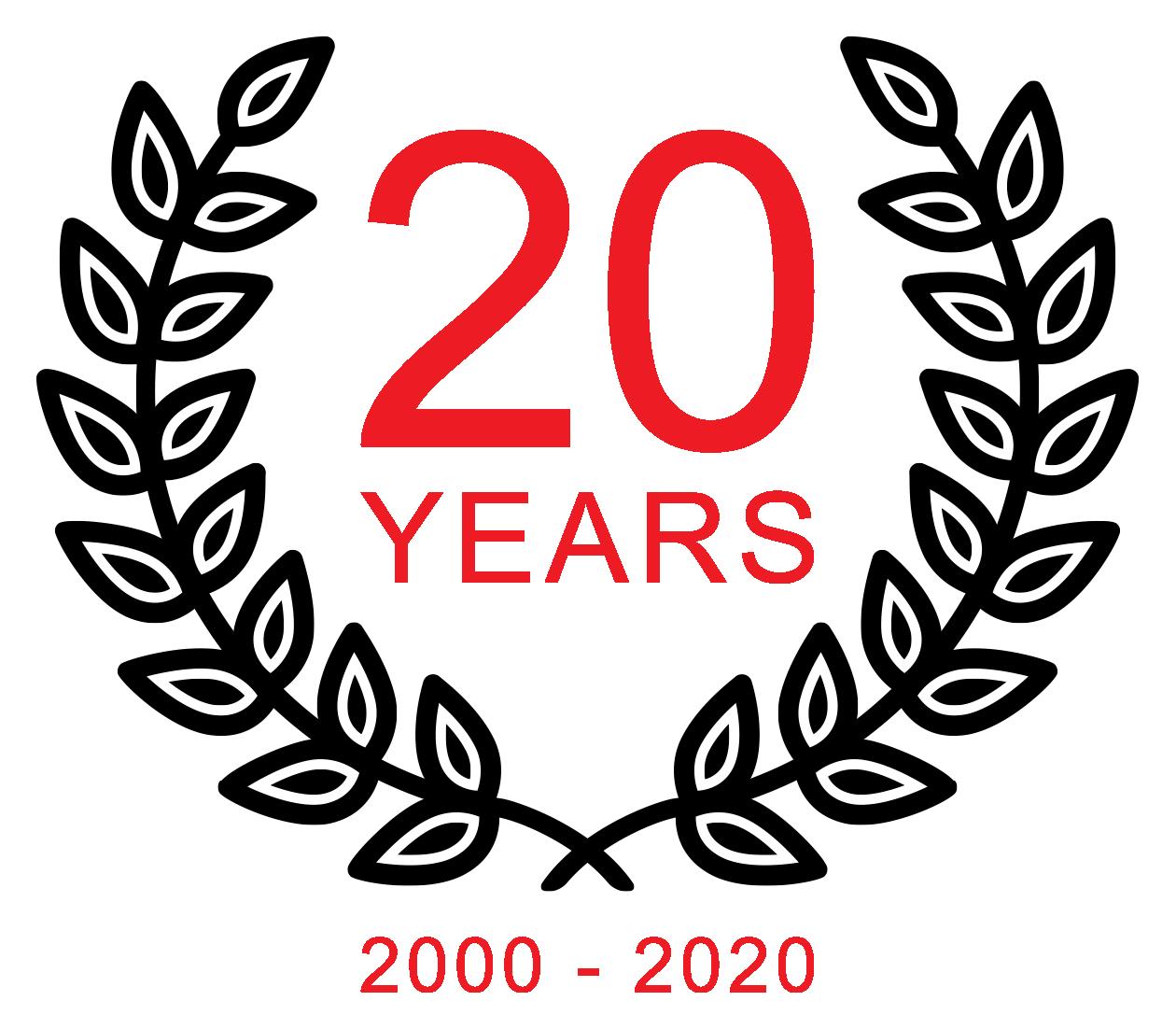 Circuit 2 Circuit 20 Years Logo